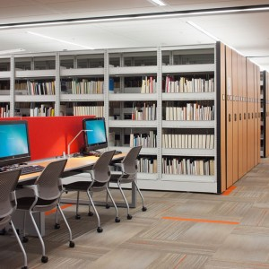 Library Storage - Moving Shelving Systems for Library Shelving