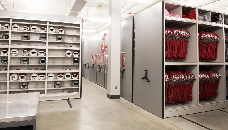 Athletic Equipment Storage │Spacesaver Intermountain