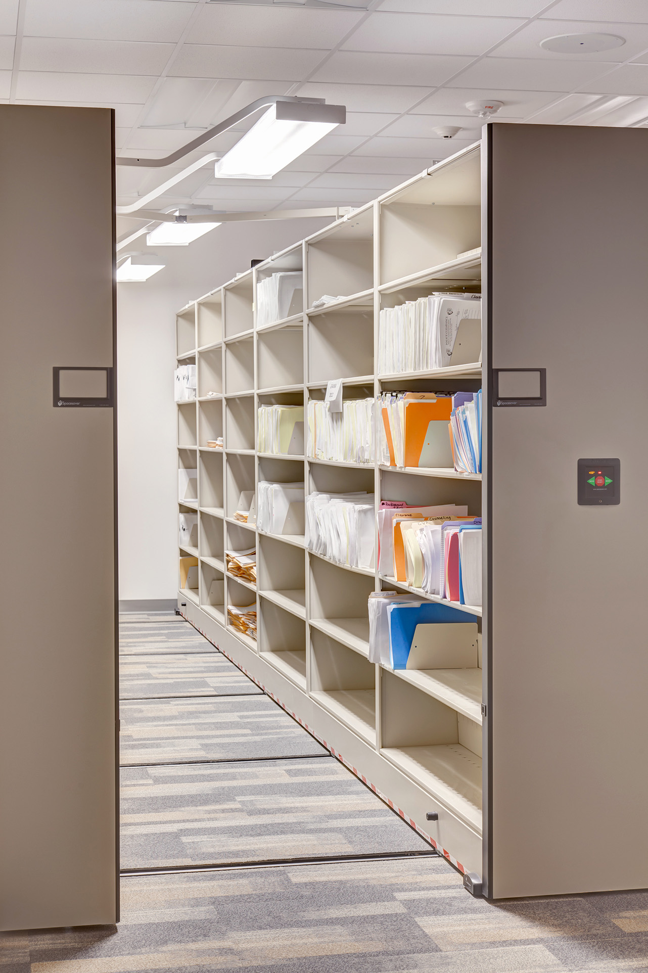 File Storage at Public Safety Building