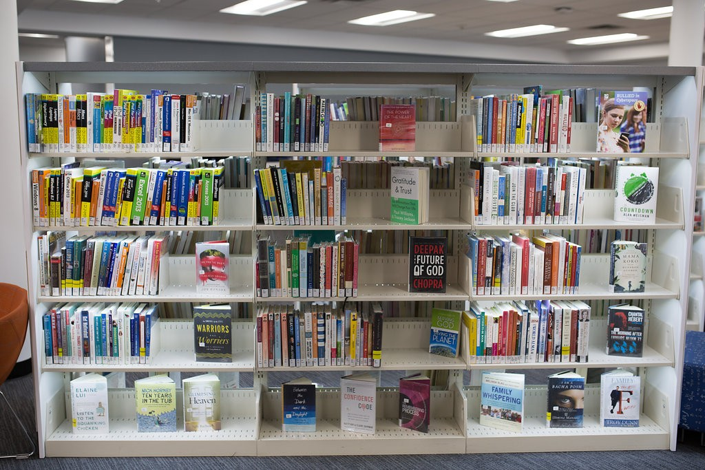 Library Lighting for each individual shelf