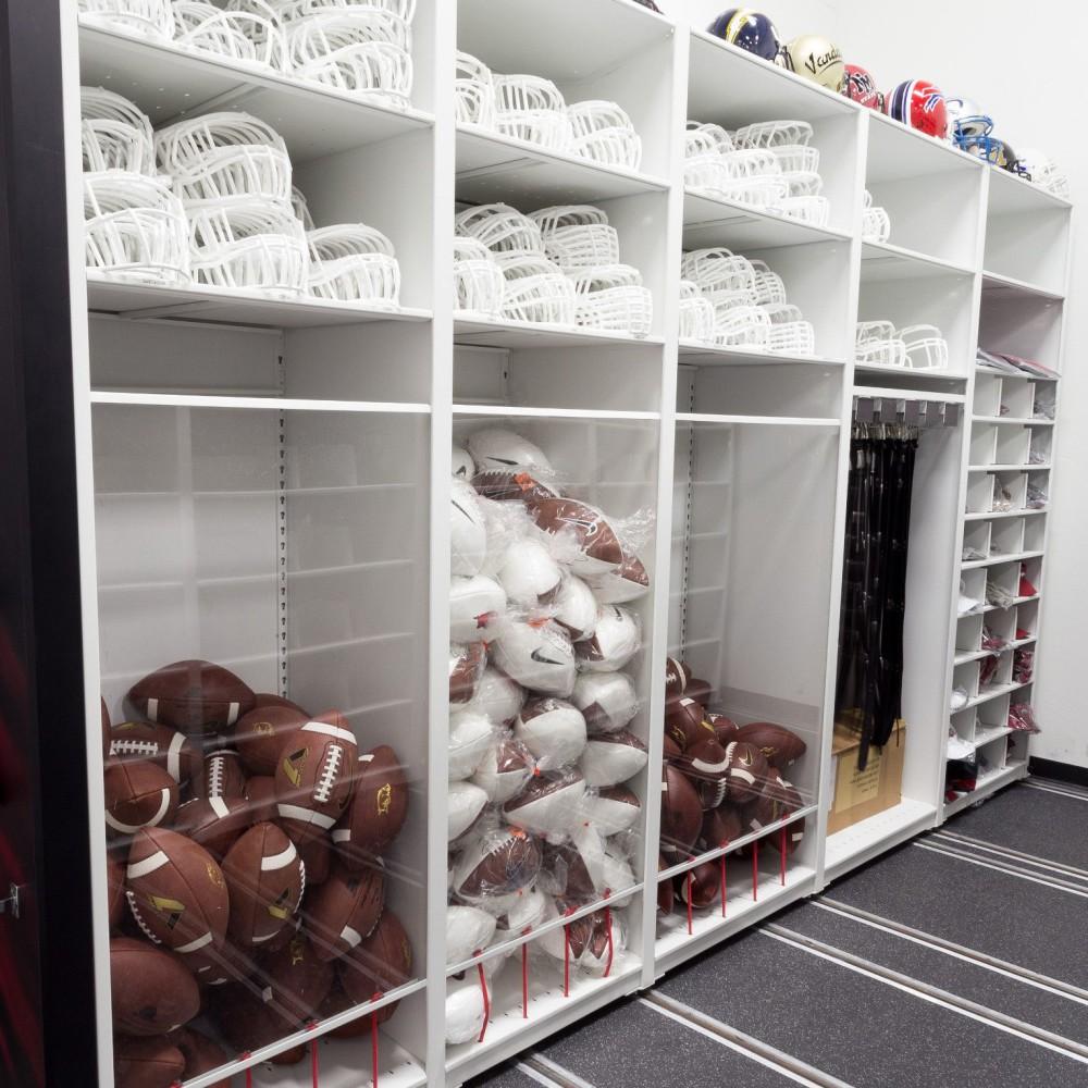 University of Arkansas Football Equipment Storage