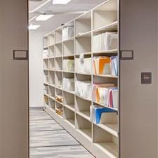 Filing Supply Storage at Salt Lake City Public Safety Building