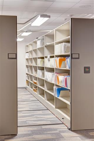 Filing Supply Storage at Salt Lake City Public Safety Building
