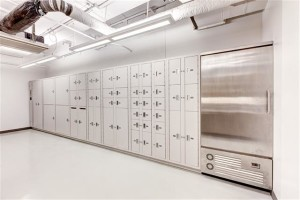 Secure Evidence Lockers with Refrigerated Evidence Storage