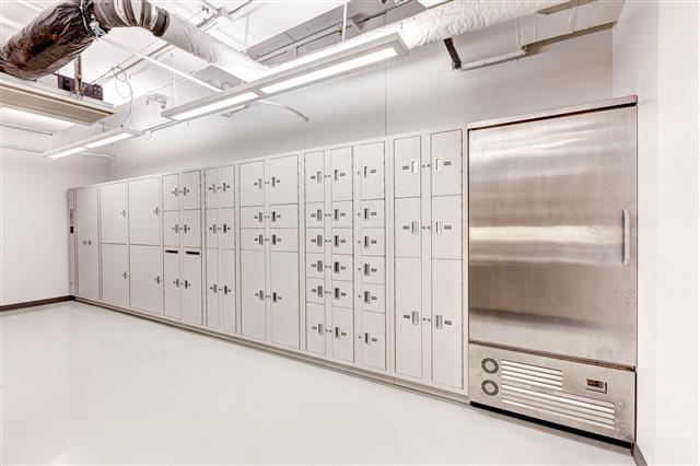Public Safety Storage - Secure Evidence Lockers with Refrigerated Evidence Storage