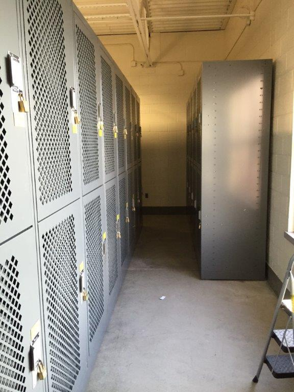 Military Storage - Locker storage at Idaho Army National Guard