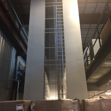 vertical lift system for box storage