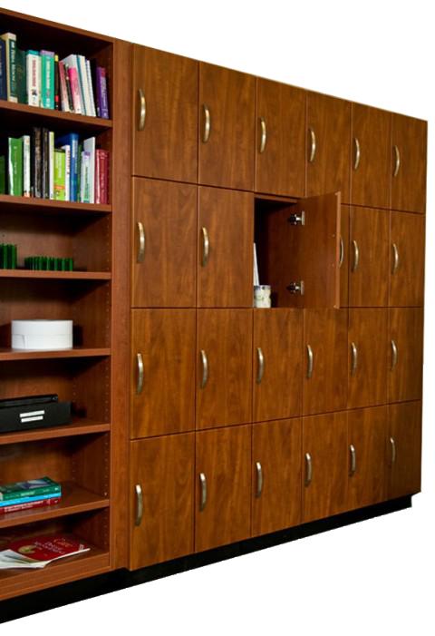 Laminate personal locker