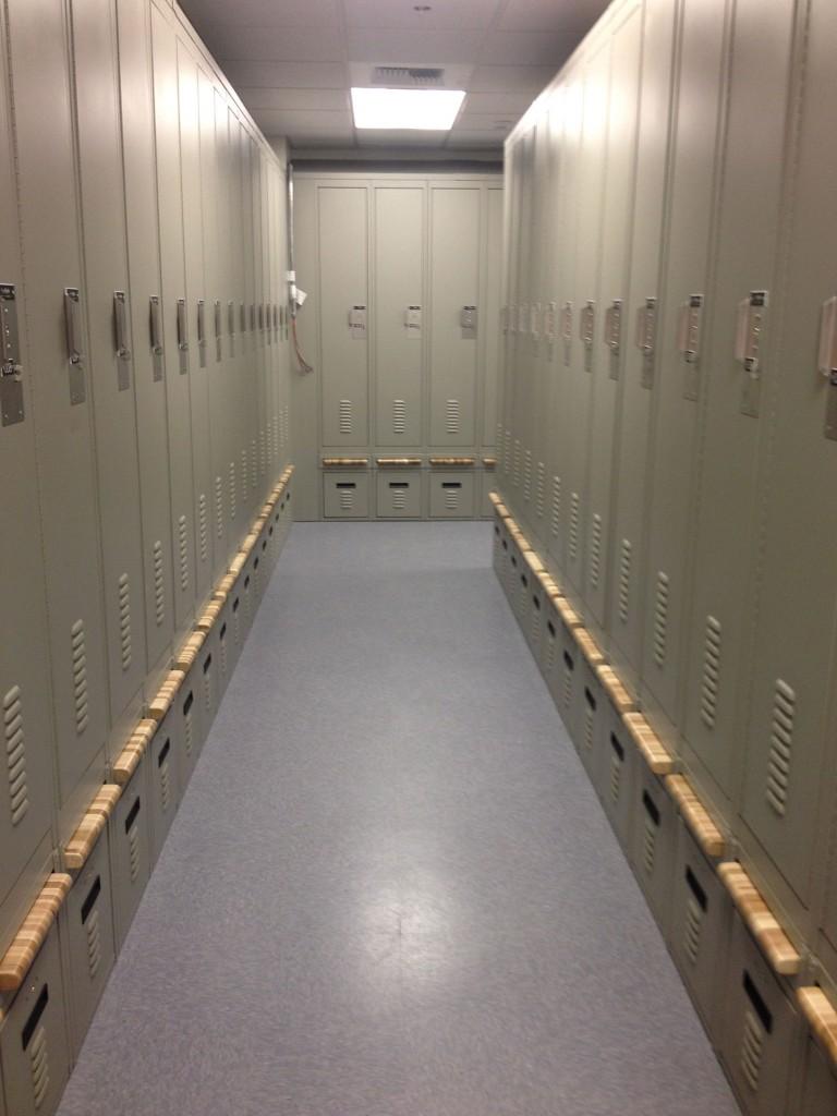 Breadboard Bench Lockers
