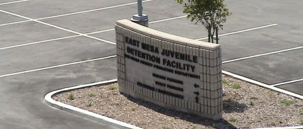 East Mesa Reentry Facility Sign