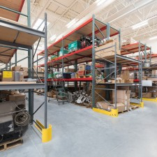 raptor rack and pallet racking for provo power warehouse