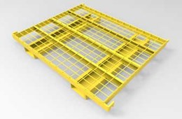 flow-thru pallet racking