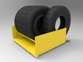 Tire Storage Kit for Pallet Racking