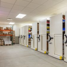 ActivRAC Mobile system storing medical equipment