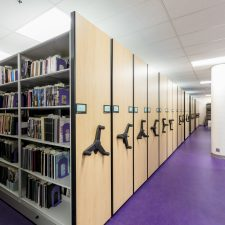 Weber_State_Library_Mechanical_Assist_Mobile_Shelving