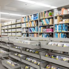 Weber_State_University_Library_Display_Shelving