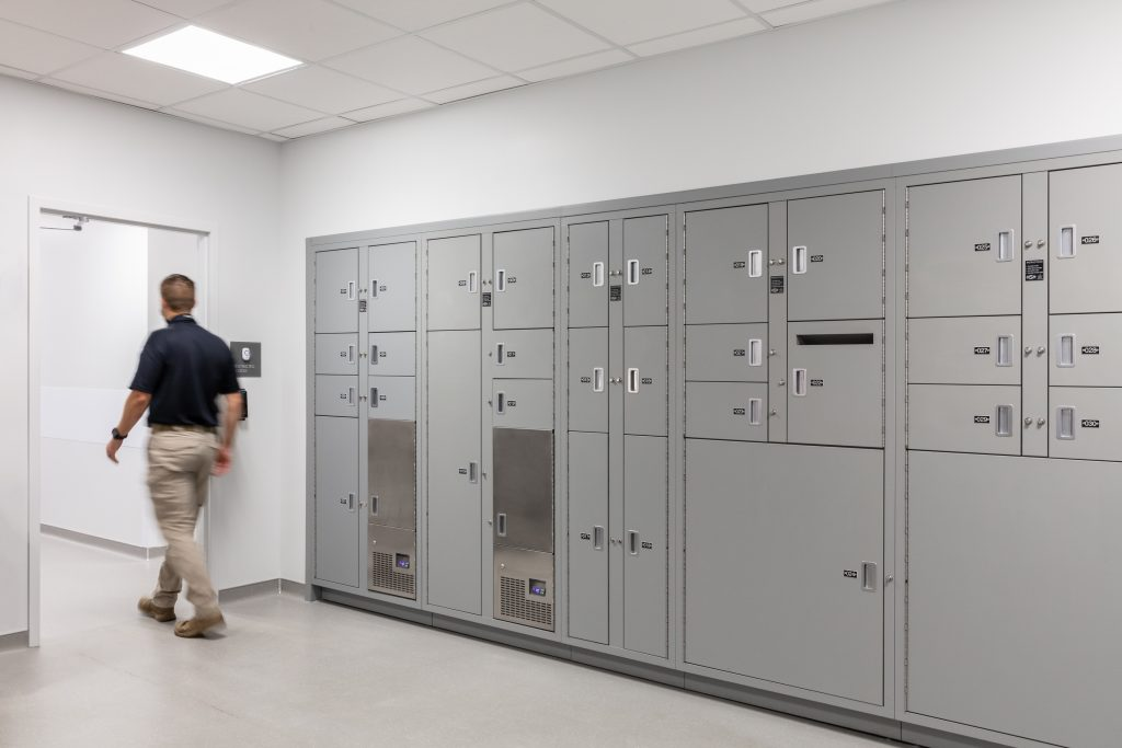 Evidence Lockers for West Valley Police Department