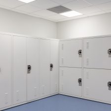 Gear Lockers for the Salt Lake City Police Department