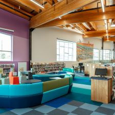 lounge seating in kearns library