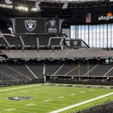 Las Vegas Raiders Stadium and Field